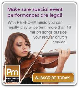 PERFORMmusic license